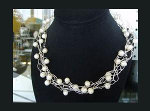 Wire Crochet Jewelry Class